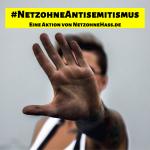 Mann sagt Stopp zu Antisemintismus